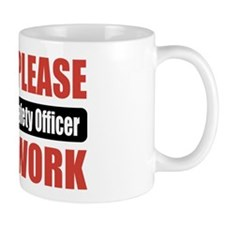 Health and Safety Officer Work Mug