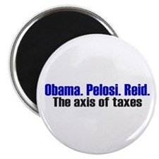 Axis of Taxes Magnet