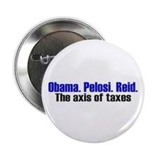 "Axis of Taxes 2.25"" Button"