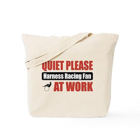 Harness Racing Fan Work Tote Bag