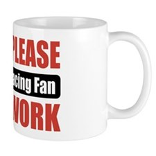 Harness Racing Fan Work Mug