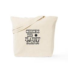 Hockey Playoff Beards Tote Bag