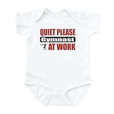 Gymnast Work Infant Bodysuit