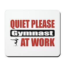 Gymnast Work Mousepad