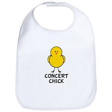 Concert Chick Bib