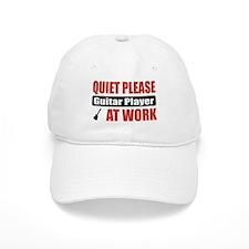 Guitar Player Work Baseball Cap