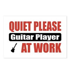 Guitar Player Work Postcards (Package of 8)
