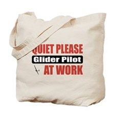 Glider Pilot Work Tote Bag