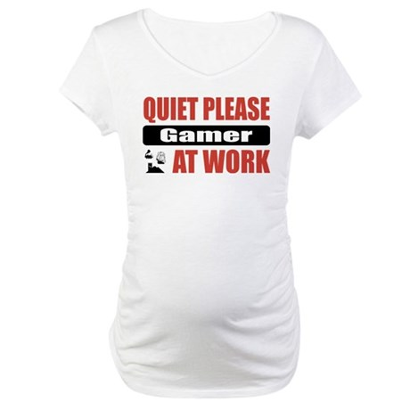Gamer Work Maternity T-Shirt