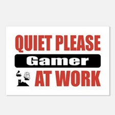 Gamer Work Postcards (Package of 8)