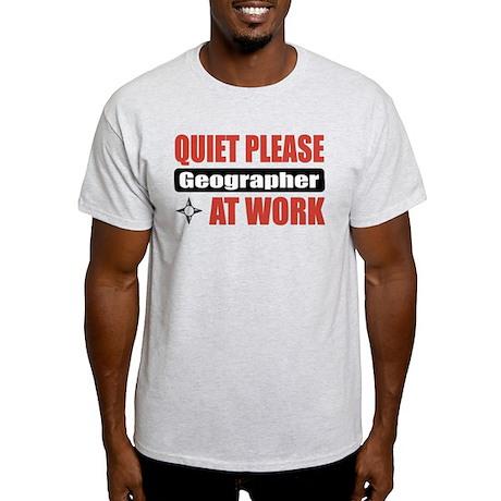 Geographer Work Light T-Shirt