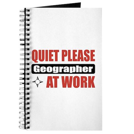 Geographer Work Journal