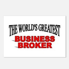"""""""The World's Greatest Business Broker"""" Postcards ("""