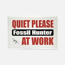 Fossil Hunter Work Rectangle Magnet