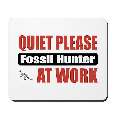Fossil Hunter Work Mousepad