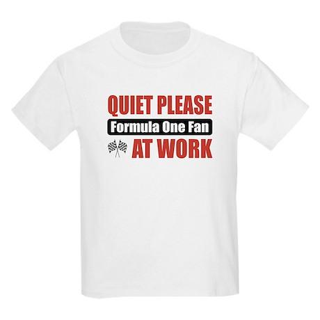 Formula One Fan Work Kids Light T-Shirt