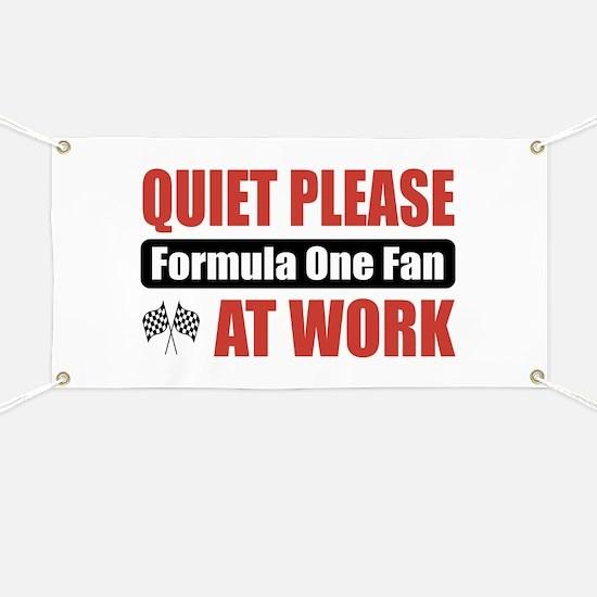 Formula One Fan Work Banner