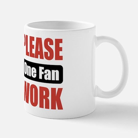 Formula One Fan Work Mug