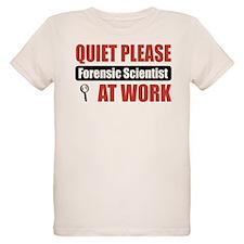 Forensic Scientist Work T-Shirt