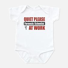 Forensic Scientist Work Infant Bodysuit