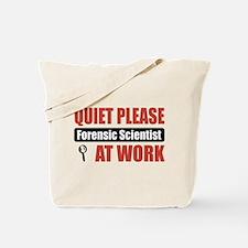 Forensic Scientist Work Tote Bag