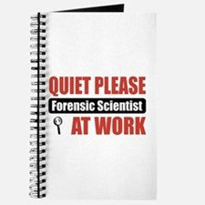 Forensic Scientist Work Journal
