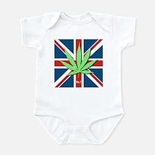 Unique Weed joint Infant Bodysuit