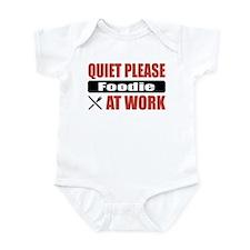 Foodie Work Infant Bodysuit