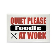 Foodie Work Rectangle Magnet