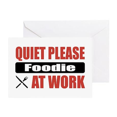 Foodie Work Greeting Card