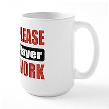 Flute Player Work Mug