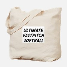 ultimate fastpitch softball Tote Bag