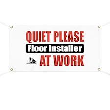 Floor Installer Work Banner