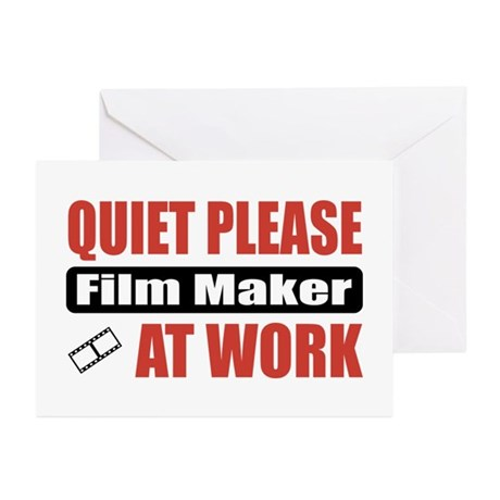 Film Maker Work Greeting Cards (Pk of 20)
