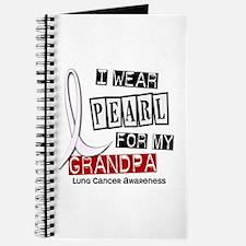 I Wear Pearl For My Grandpa 37 Journal