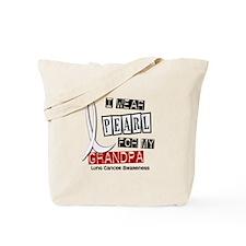 I Wear Pearl For My Grandpa 37 Tote Bag
