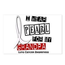 I Wear Pearl For My Grandpa 37 Postcards (Package