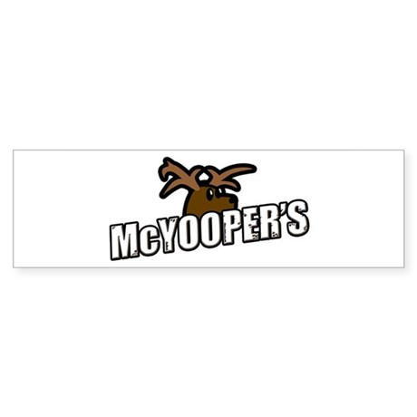 McYooper's Bumper Sticker