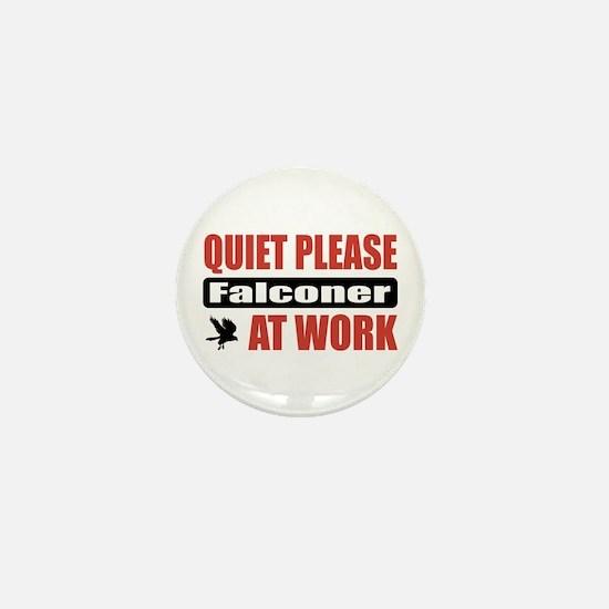 Falconer Work Mini Button