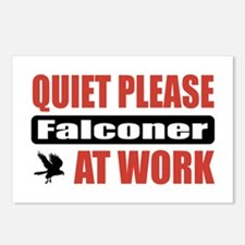 Falconer Work Postcards (Package of 8)