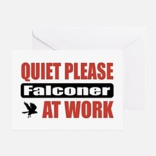 Falconer Work Greeting Card