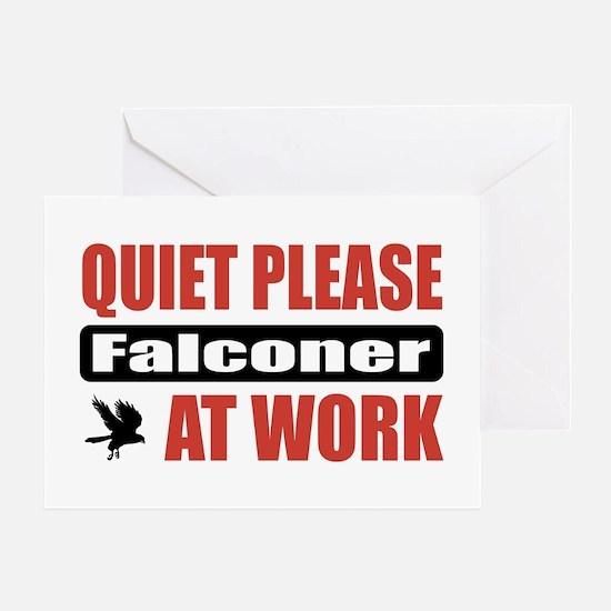 Falconer Work Greeting Card