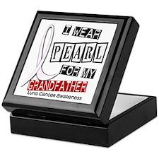 I Wear Pearl For My Grandfather 37 Keepsake Box
