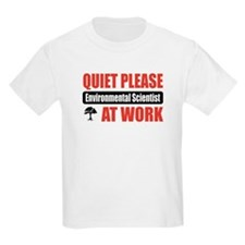 Environmental Scientist Work T-Shirt