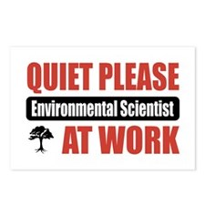 Environmental Scientist Work Postcards (Package of