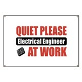 Electrical engineering signs Banners