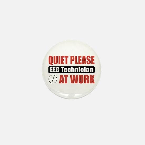 EEG Technician Work Mini Button