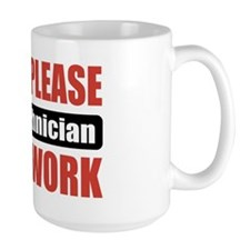 EEG Technician Work Mug