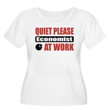 Economist Work Women's Plus Size Scoop Neck T-Shir