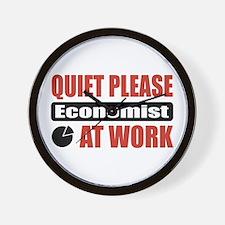 Economist Work Wall Clock